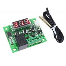 Электронный терморегулятор W1209 купить в Алматы в интернет-магазине недорого