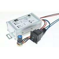 PWM DC motor speed controller