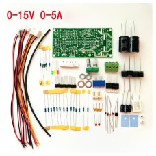 DIY set to build a laboratory power supply 15 Volts 5 Amps