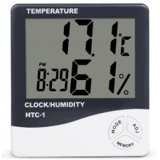 Digital hygrometer thermometer, HTC-1 portable weather station