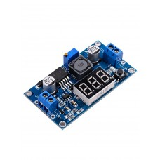DC-DC step-down Converter with voltmeter LM2596