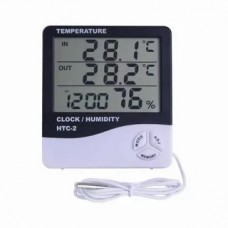 HTC-2 digital thermometer + hygrometer with remote sensor