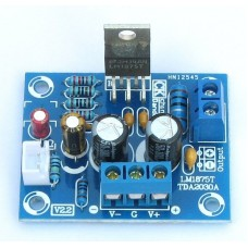 DIY KIT Kit for assembling a single-channel 25W power amplifier on LM1875 with a bipolar supply