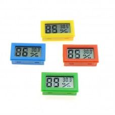 Digital thermometer-hygrometer for incubator, terrarium