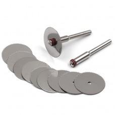 Отрезные диски для бор-машинки, дремеля и нержавеющей стали 16, 25, 32 мм 10 шт.