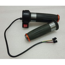 Throttle grip with switch