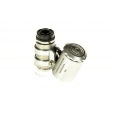 Mini microscope magnifier jewelry 9882 60x