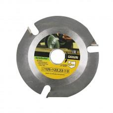 Пильный диск для угловой шлифовальной машины для резки  и шлифовки различных твердых пород дерева