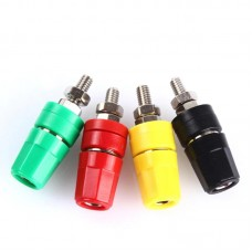 Connector for 4 mm terminal plug