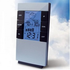 "3.1 ""LCD digital thermometer humidity meter"