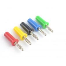 Mini 4 mm Copper Banana Plug Jack For Speaker Amplifier