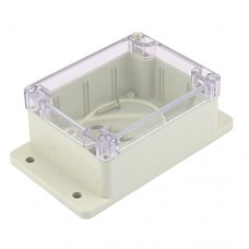 Plastic housing waterproof for electronic devices with 4 screws 100x68x50 mm