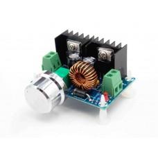 DC-DC adjustable converter with voltage regulation, input 4-40V, output 1.25 - 36V, current 0-8.0A 200 W, on chip XL4016