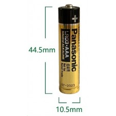 Panasonic Industrial 7aaa battery (LR03)